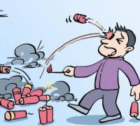 禁止燃放烟花爆竹倡议书范本
