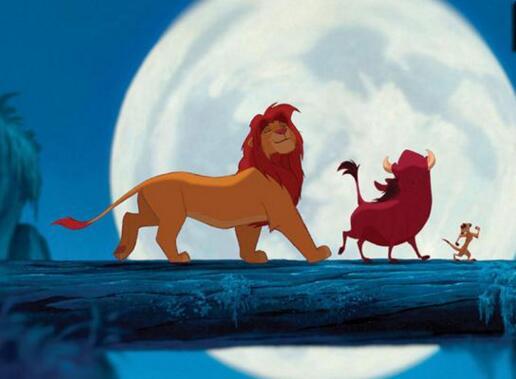 狮子与狼儿童小故事