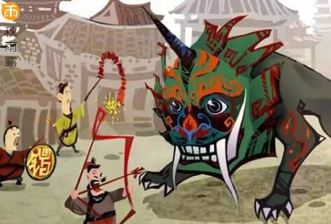 关于春节的故事传说