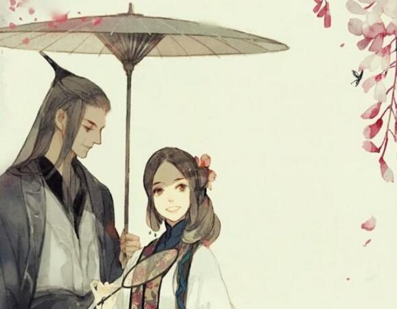 爱情古风句子,古文中描写爱情句子