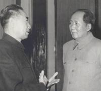 毛主席悼念周总理诗词