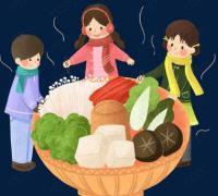 冬至包饺子的作文