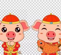 猪年四字祝福语,2019年猪新年祝福语