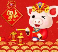 新年贺词猪年祝福语