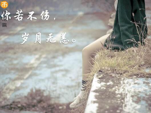 伤感语录爱情语录,读了想流泪......